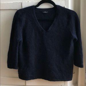 New J. Crew 100% cashmere v-neck pullover sweater